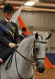 Amanda Reid Runner Up National Show Horse Rider 2009
